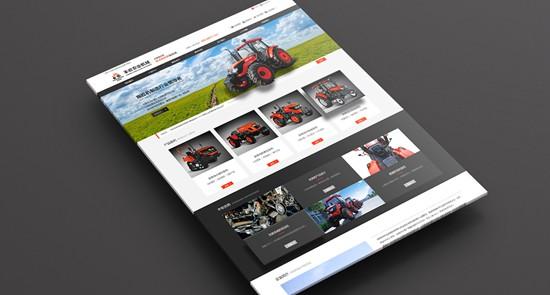 洛阳丰收农业装备官网双语版网站